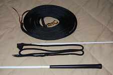 Lead Rope W/Parelli Snap & Handy Carrot Stick For Natural Horse Training