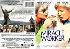 The Miracle Worker ~ New DVD ~ Anne Bancroft, Patty Duke (1962)