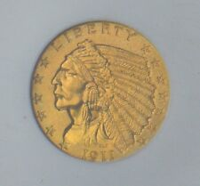 """1911-D Indian Head $2.50 Gold NGC CAC MS-64  """"Key Date, Superb Quality"""""""