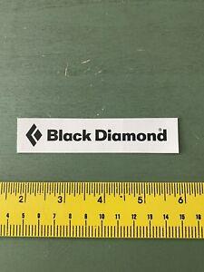 black diamond sticker skiing