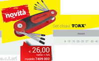 INTERCABLE 7409002 SET CHIAVI TORX