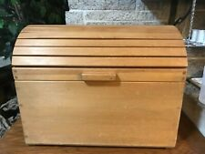 SOLID WOOD ROUND TOP TRUNK TOY BOX BLANKET STORAGE CHEST AMISH MADE FURNITURE