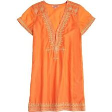 Calypso St. Barth Majira Embroidered Cotton-Blend  Dress - BRAND NEW -  Size S