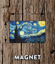 Van Gogh starry night Fridge magnet NEW