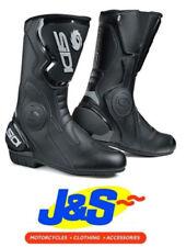 Bottes noires en résistant à l'eau pour motocyclette Homme