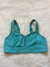 Lululemon Blue Teal Hook Clasp Sports Bra Sz Small S 4/6