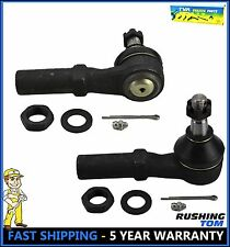 2 Outer Tie Rod Ends ES3538 Rack & Pinion Steering For Dodge Ram 1500 2500 3500