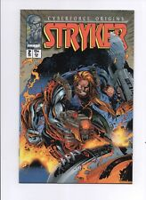 CYBERFORCE ORIGINS: STRYKER #2 1st MICHAEL TURNER art 1995 Witchblade Fathom