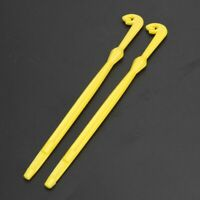 2Pcs Easy Hook Loop Tyer & Disgorger Pesca Packed in Small Yellow Kit Tier Line