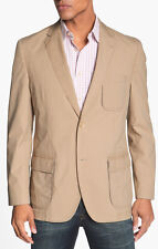 $350 Kroon Harrison Cotton Blend Sportcoat in Brown for Men (tan) SZ: 46R