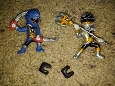 "Sentai Gokaiger Blue Silver Loose Figure Lot 3"" Bandai"