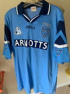 O'Neills ARNOTTS Soccer Futbol Powder Blue Short Sleeve Jersey Size XL