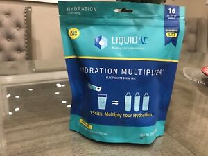 Liquid I.V. Hydration Multiplier Electrolyte Supplement Drink Mix - 16 Count