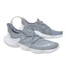 Nike Men's Sz 10 Free RN 5.0 Running Sneakers AQ1289-001 Wolf Grey White