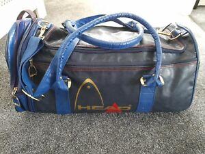 Vintage Retro Large HEAD gym Bag. Navy blue & mid blue with detachable end bag.