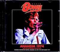 DAVID BOWIE LIVE AT ANAHEIM CONVENTION CENTER CA USA 9.16.1974 ALADDIN SANE