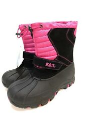 Totes Girls' Winter Snow Waterproof Boots Youth Size 3 M