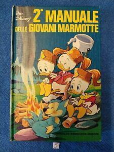 Walt Disney 2° MANUALE DELLE GIOVANI MARMOTTE 1^ediz. Mondadori 1975
