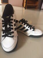 Adidas Mens Shoes Sneakers Black & White US 9.5 UK 9