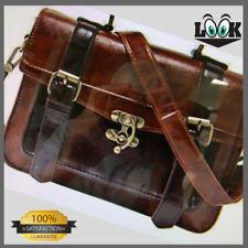 ECOSUSI Women's Girl's Faux Leather Satchel Purse Handbag Small School Crossbody