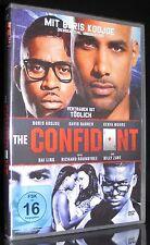 DVD THE CONFIDANT - VERTRAUEN IST TÖDLICH - mit BORIS KODJOE (Resident Evil) NEU