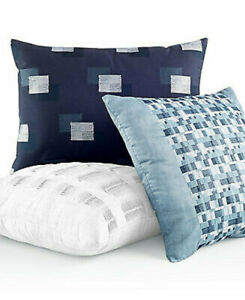 Hotel Collection Colonnade Blue Decorative Pillow Collection 14 x 24