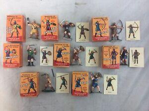 Lot 8 Vintage Marx Warriors Of The World Vikings
