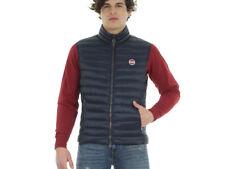 Cappotti e giacche da uomo blu marca Colmar lunghezza ai fianchi