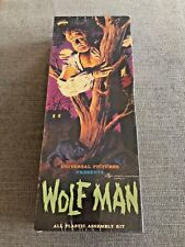 MIB AURORA CINEMODELS WOLF MAN PLASTIC MODEL KIT UNIVERSAL PICTURES