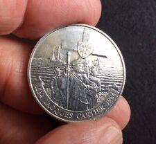 """Canada: 1984  $1 Coin  """"1534 Jacques Cartier 1984"""""""