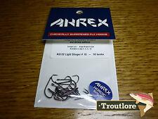 18 x AHREX NS122 #10 NORDIC SALT LIGHT STINGER HOOKS NEW FLY TYING MATERIALS