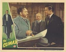 """THE CLIMAX""-ORIGINAL LOBBY CARD-TURHAN BEY-THOMAS GOMEZ-UNIVERSAL-HORROR"