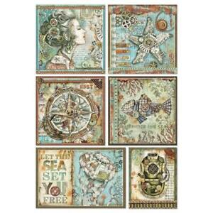 Rice Paper - Decoupage - Stamperia - 1 x A4 Size Sheet - Frames