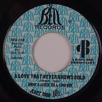 JIMMY & LOUISE TIG & COMPANY: A Love That Never BELL Northern Soul 45 Hear