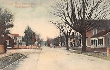 1907 Store & Homes Main St. looking East North Scituate RI post card