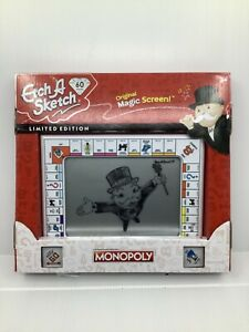 ETCH A SKETCH 60th Anniversary Monopoly Edition - LIMITED EDITION -  New in Box