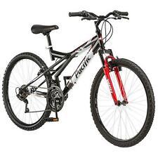 Pacific Evolution 26 Inch Men's Mountain Bike 15 Speeds 18 Gears Steel Frame