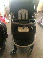 Graco FastAction SE Travel System Stroller with Snugride 30 LX *Carbie Fashion*
