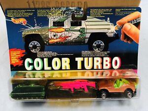 HOT WHEELS COLOR TURBO MATTEL PERFECTLY NEW!!MOC!!mod.nr7