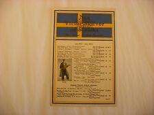 Original Victor Phonograph Record Catalog - Swedish July, 1917