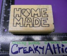 HOME MADE STITCHED PATCHED RUBBER STAMP AZADI EARLES F495
