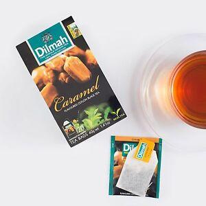 DILMAH Caramel Flavoured Black Ceylon Tea 20 Bags