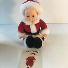 Anne Geddes Baby Santa 8 Inch F734841 New