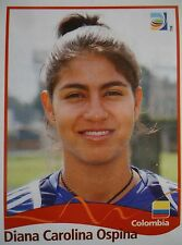 PANINI 231 DIANA CAROLINA Ospina Colombia FIFA Women's World Cup 2011 GERMANY
