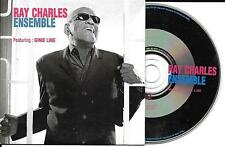 CD CARTONNE CARDSLEEVE 2 TITRES RAY CHARLES feat GINIE LINE ENSEMBLE 2002 TBE