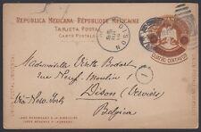 MEXICO, 1910. Post Card H&G 113, Guadalajara - Belgium