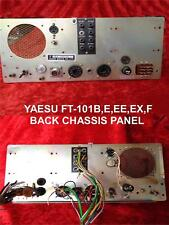 YAESU FT-101 /B/E/EE/EX /F RADIO BACK CHASSIS PANEL COMPLETE SAME DAY SHIPPING