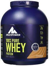 Multipower 2000 g Coffee Caramel 100 Percent Pure Whey Protein Powder