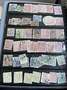 Collection of 50 Early Afghanistan Stamps Used Some Scarce