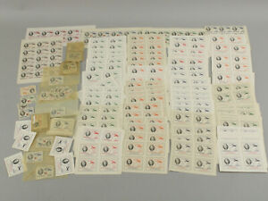1949 Ecuador Roosevelt Officials Mint Blocks, Singles, Ovpt, Used+ 500+ Stamps!